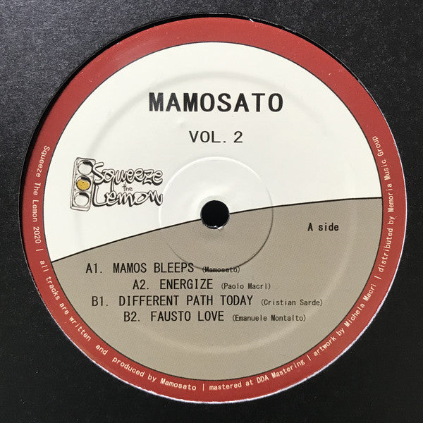 STL003 - Mamosato - Volume 2 - Squeeze The Lemon