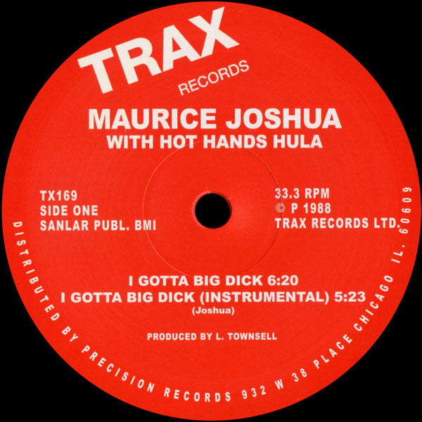 TX152 - Marshall Jefferson Presents Hercules - Lost In The Groove - Trax Records ‎