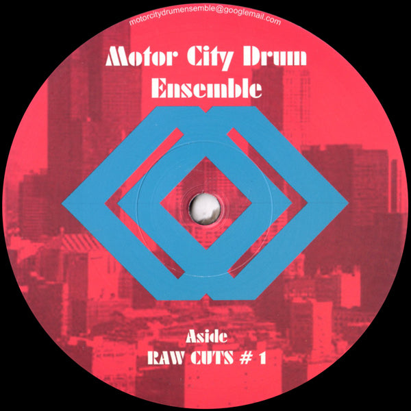 MCDE - Motor City Drum Ensemble - Raw Cuts # 1 / Raw Cuts # 2 - MCDE