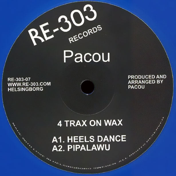 RE30307 - Pacou - 4 TRAX ON WAX - RE-303