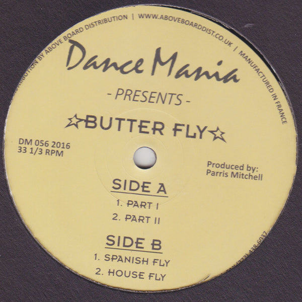 DM 056 - Parris Mitchell - Butter Fly - Dance Mania