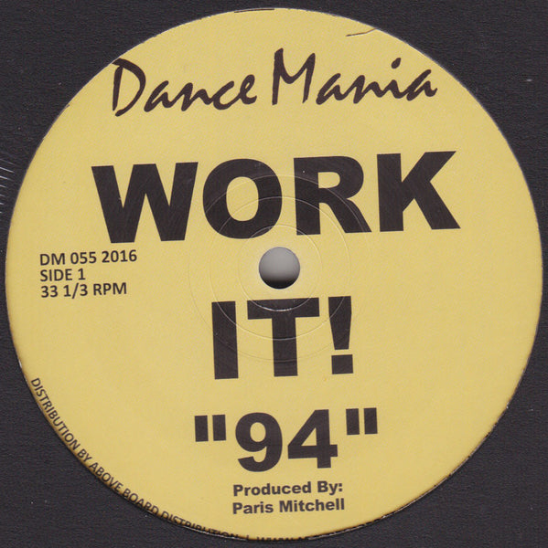 DM 055 2016 - Parris Mitchell & R.J. Hall - Work It!