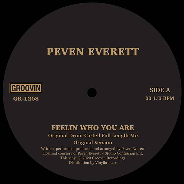 GR-1268 - Peven Everett - Feelin Who You Are - Groovin