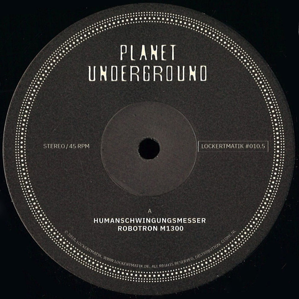 LOCKERTMATIK010.5 - Planet Underground - Lockertmatik 10.5 - 12inch