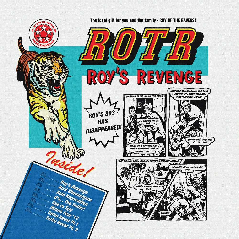 WEROTR12x4 - Roy Of The Ravers - Roy's Revenge - Winthorpe Electronics