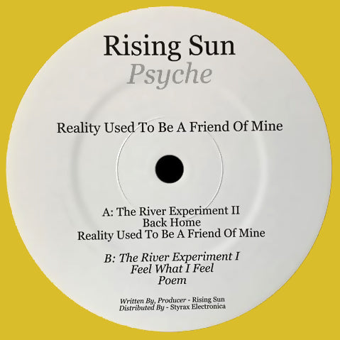 Reality 20191 - Rising Sun Psyche - Reality Used To Be A Friend Of Mine - Reality Used To Be A Friend Of Mine