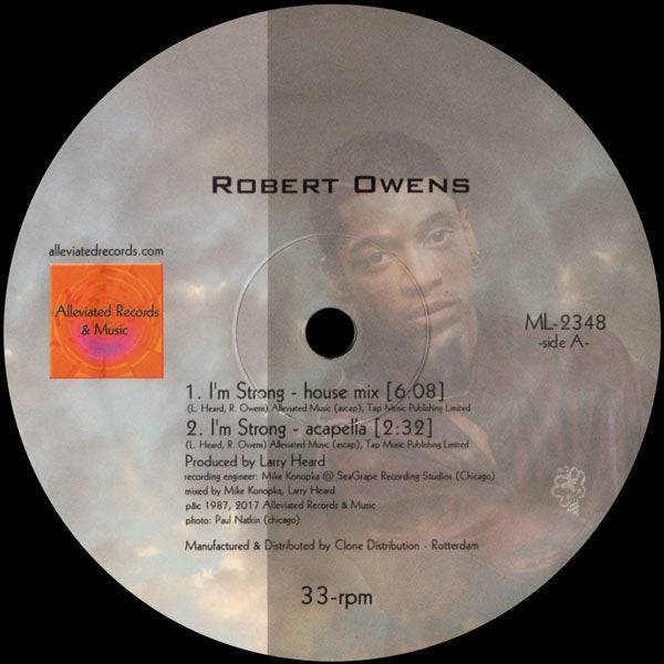 ML-2348 - Robert Owens / Mr. Fingers - I'm Strong - Alleviated