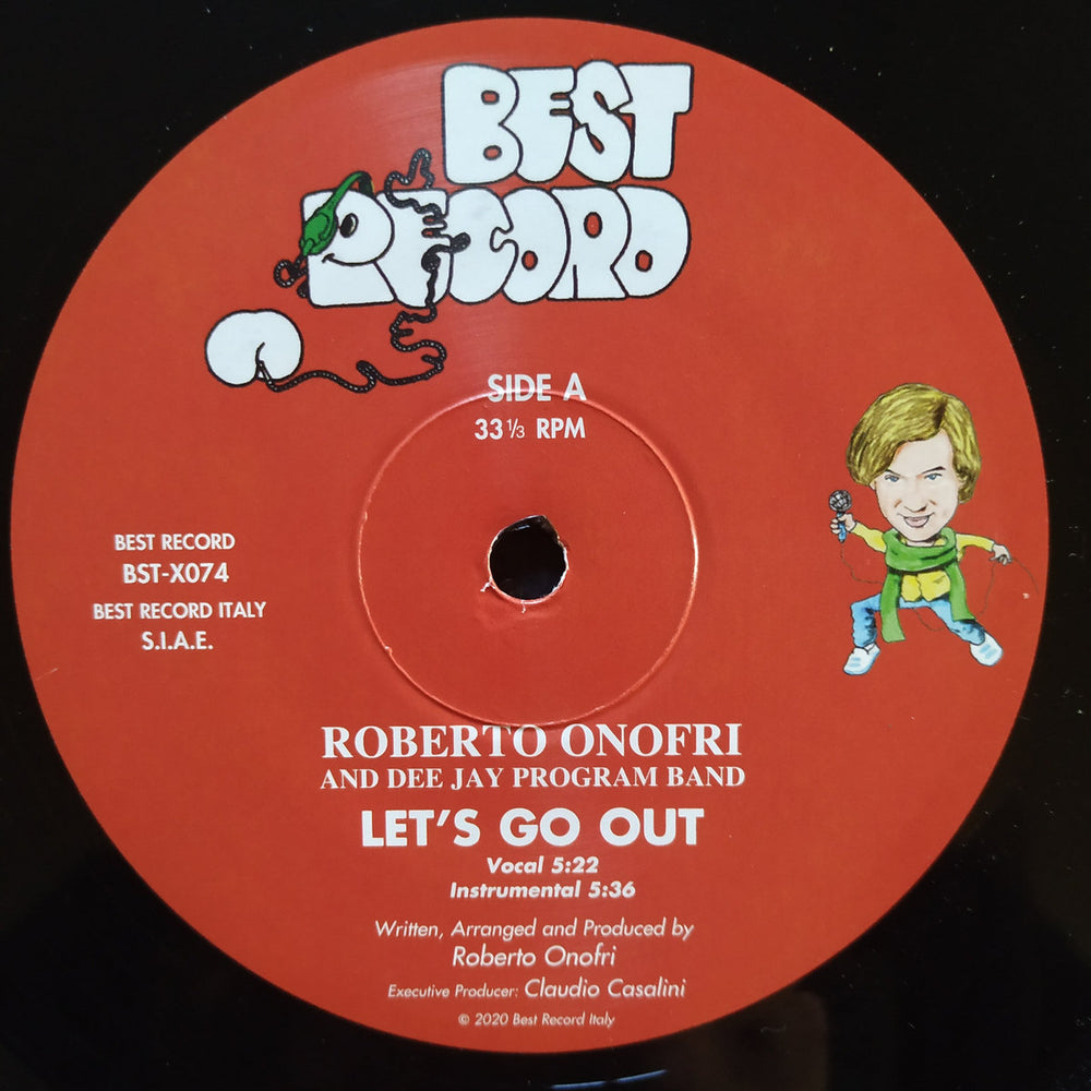 BST-X074 - Roberto Onofri & Dee Jay Program Band - Let's Go Out - Best Record