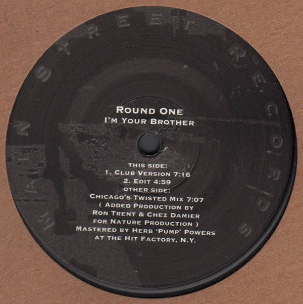 MSR-02 - Round One - I'm Your Brother - Main Street Records