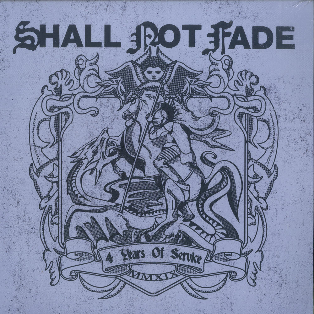 SNFLP002 - Various Artists - Shall Not Fade 4 Years Of Service - Shall Not Fade