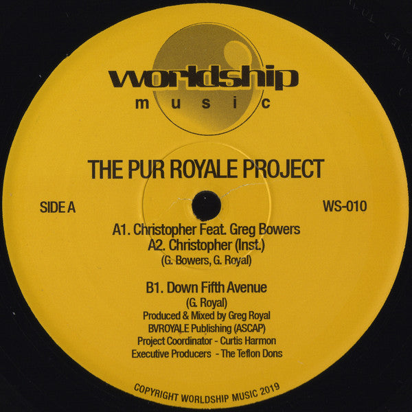 WS-010 - The Pur Royale Project - The Pur Royale Project - Worldship