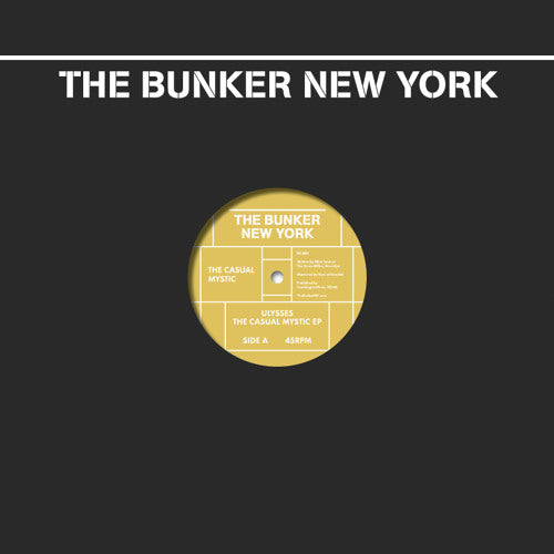 - Ulysses - The Casual Mystic - The Bunker New York