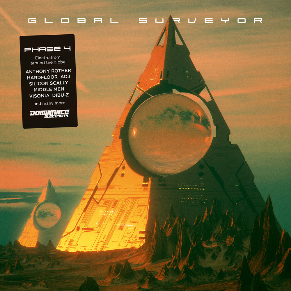 DE025 - Various Artists - Global Surveyor Phase 4 - 4x12""