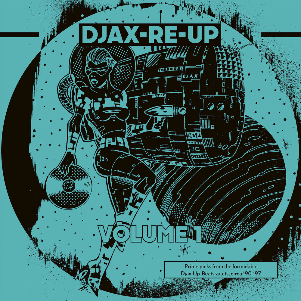 DKMTL063-1 - Various Artists - Djax-Re-Up Volume 1 - Dekmantel