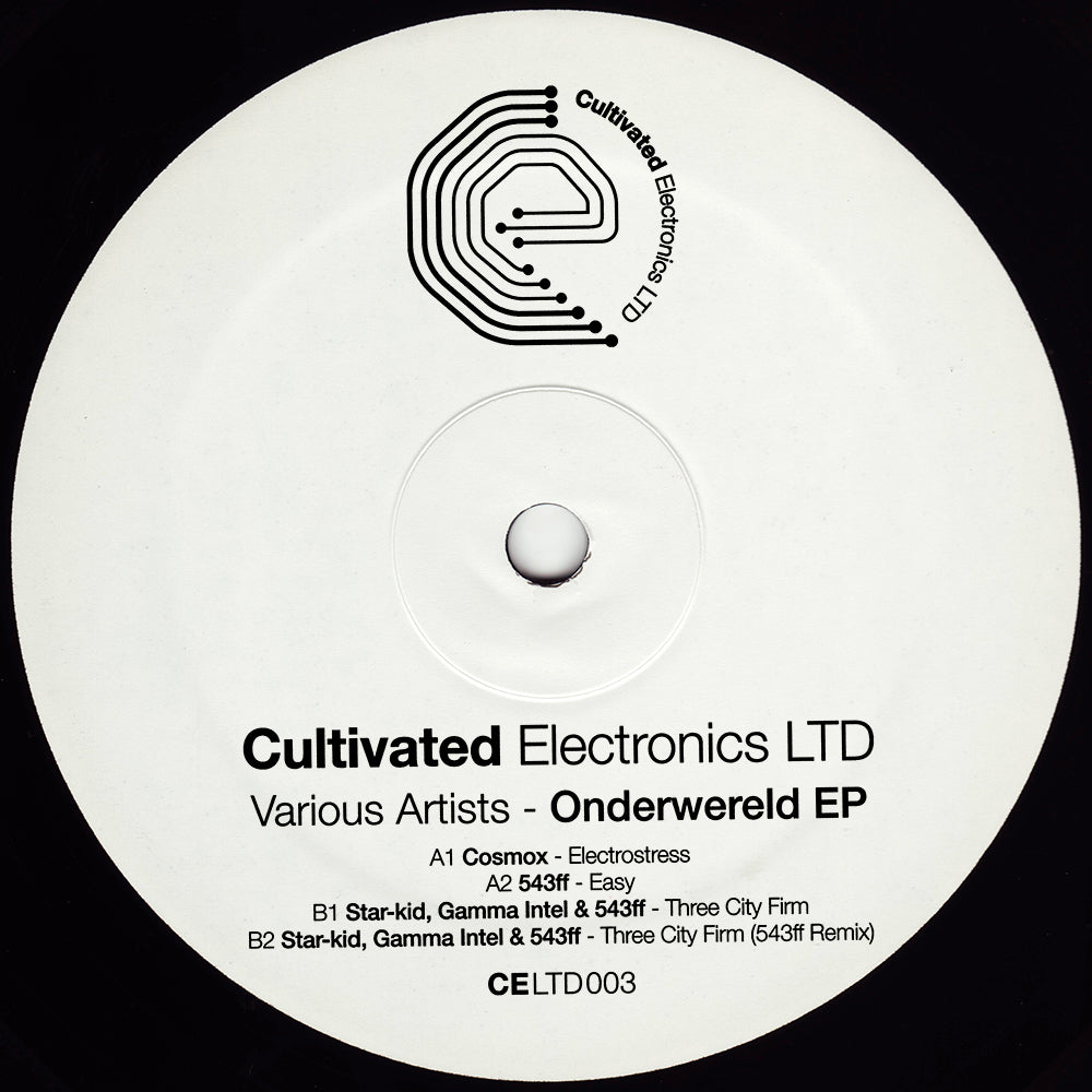 CELTD 003 - Various Artists - Onderwereld - Cultivated Electronics