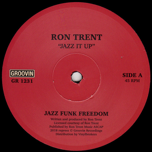 GR 1231 - Ron Trent - Jazz It Up - Groovin