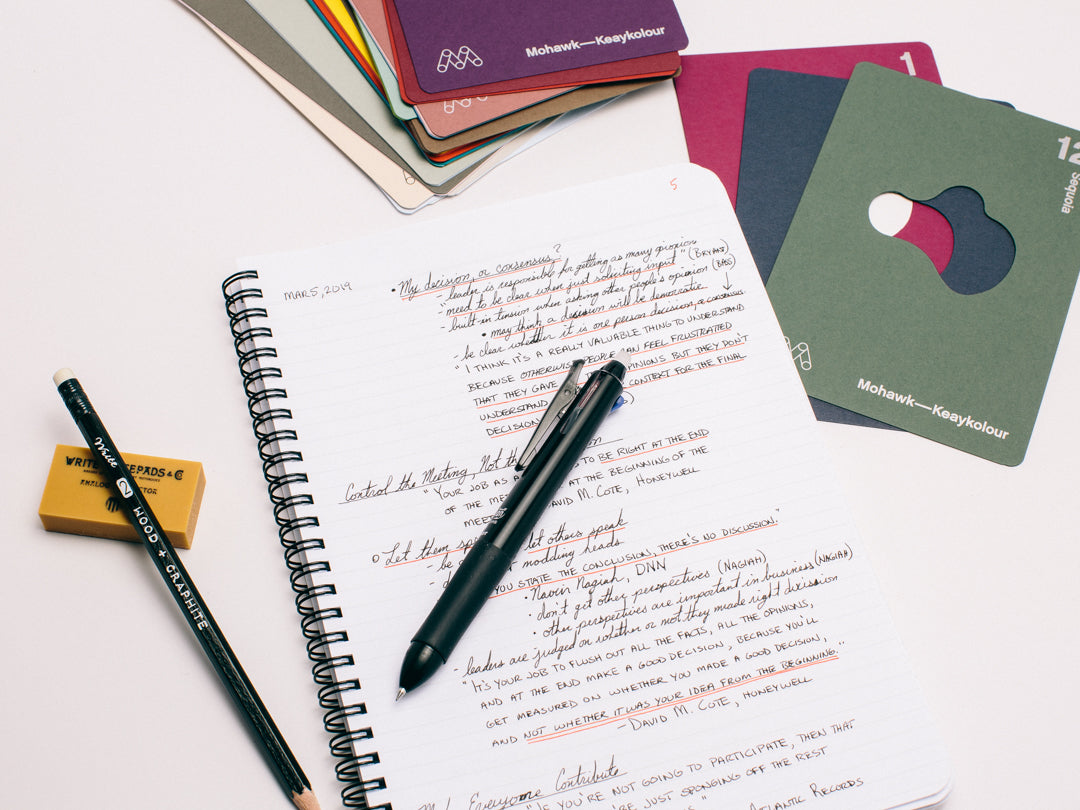 Productive on Paper: Taking Notes on Paper