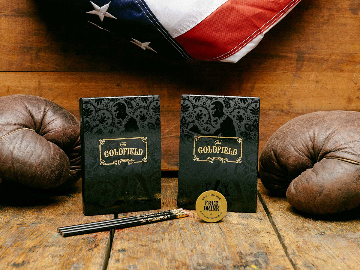 Winter 2017 - The Goldfield - Limited Edition Pocket Notebooks