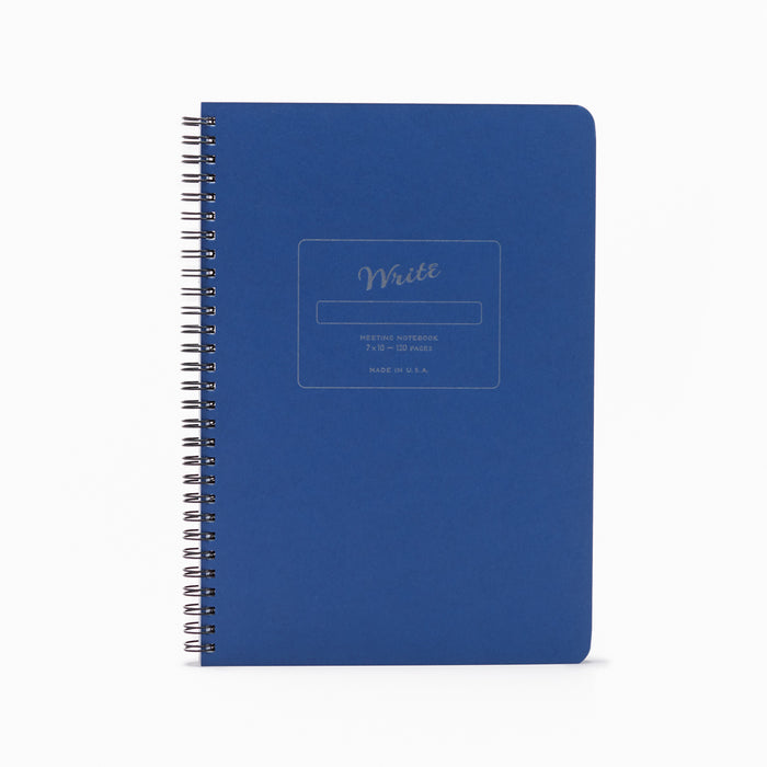 Meeting Notebook blue