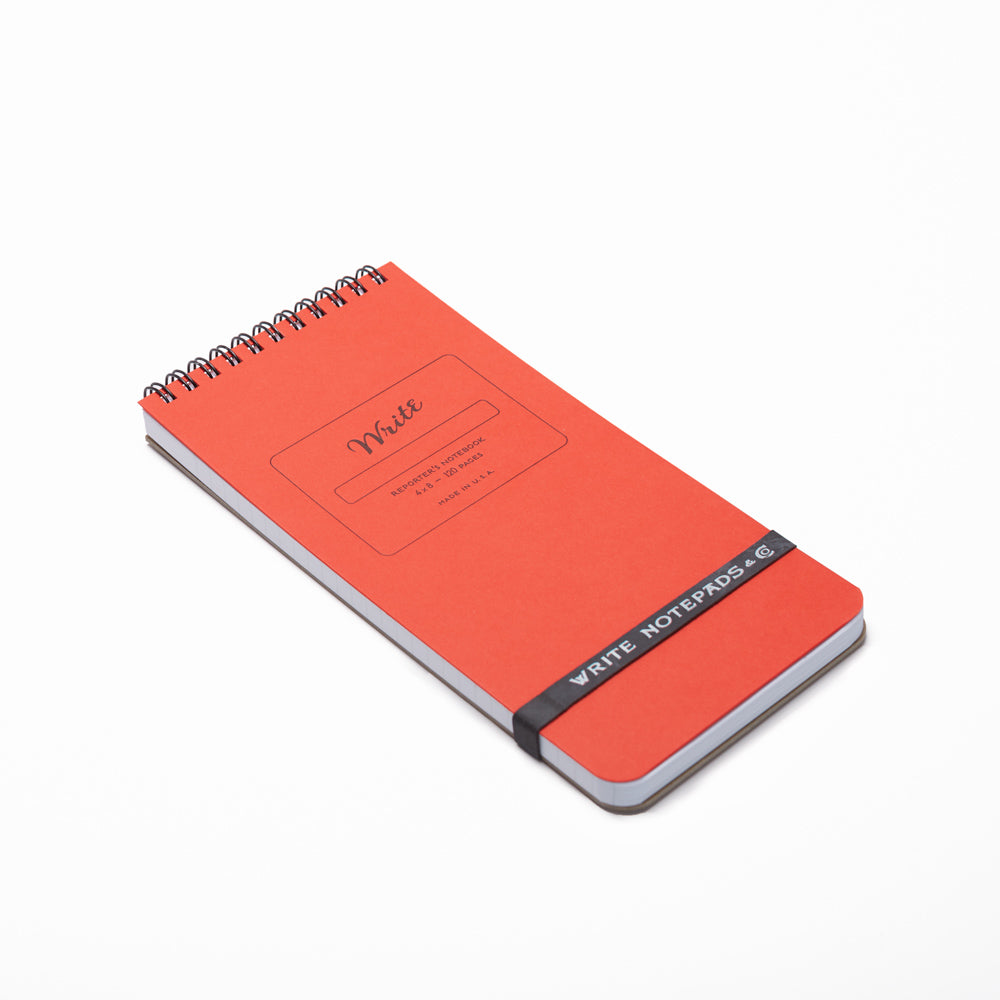 reporter notebooks red