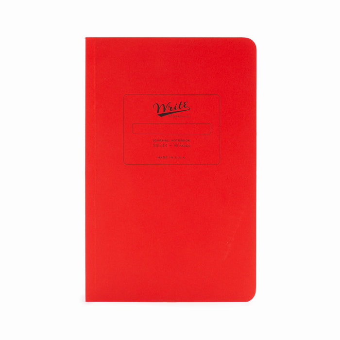Paper Notebook Red