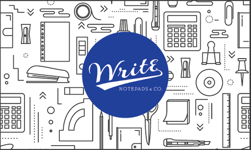 Write Notepads & Co Gift Card