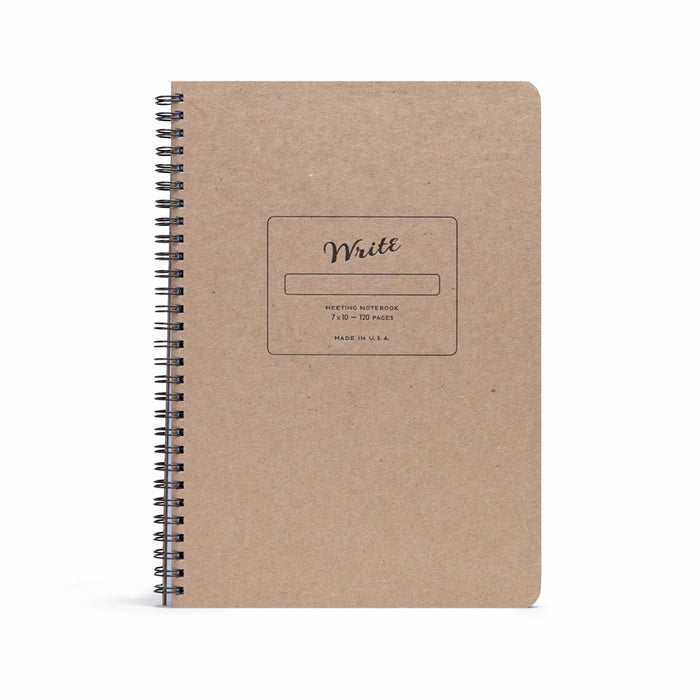 Meeting Notebook kraft