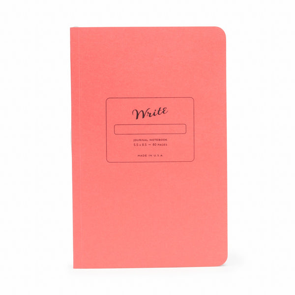 Paper Notebook Living Coral