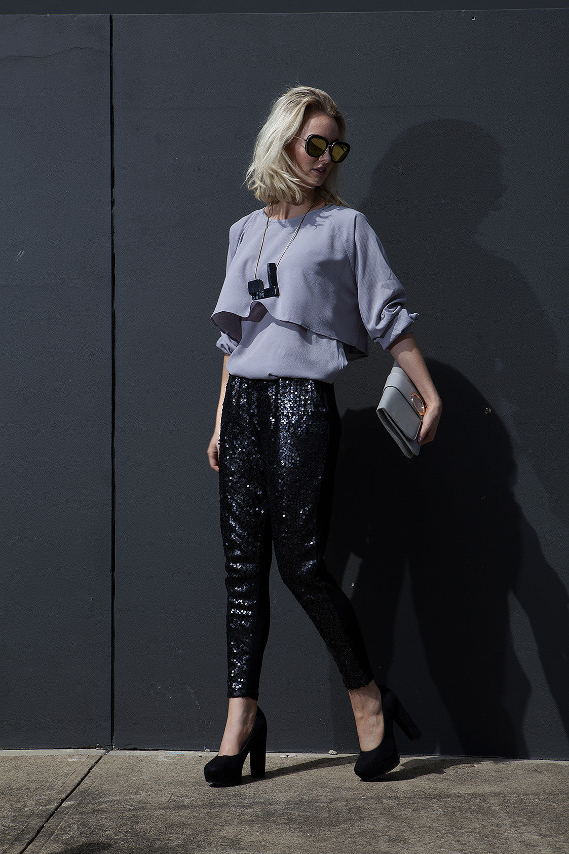 POPPY SEQUIN PANTS - WILL BE MADE TO ORDER