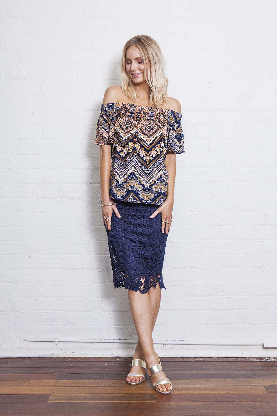 PENNY LACE SKIRT - 50% OFF