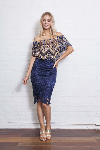 LIBBY OFF THE SHOULDER 50% OFF