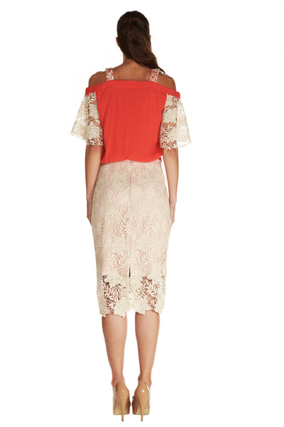 ESMERALDA LACE TOP - Kelly & Port
