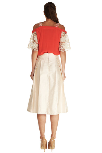 AMELIE LADYLIKE SKIRT - Kelly & Port