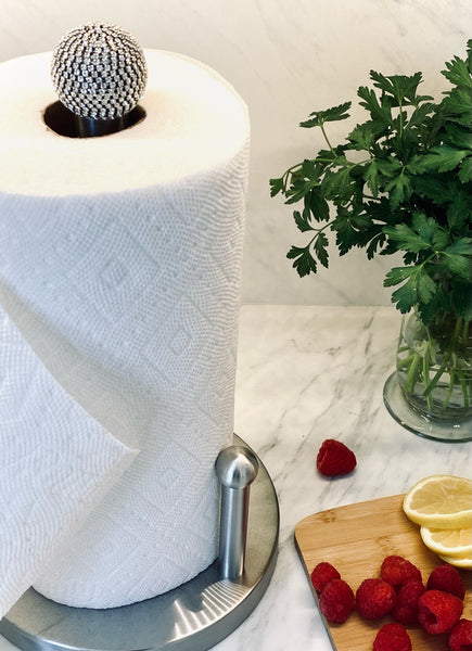 "ALC 8""L x 8""W x 15""H Signature Paper Towel Holder"