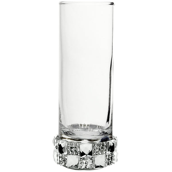 ALC Shot Glass With Checker Pattern