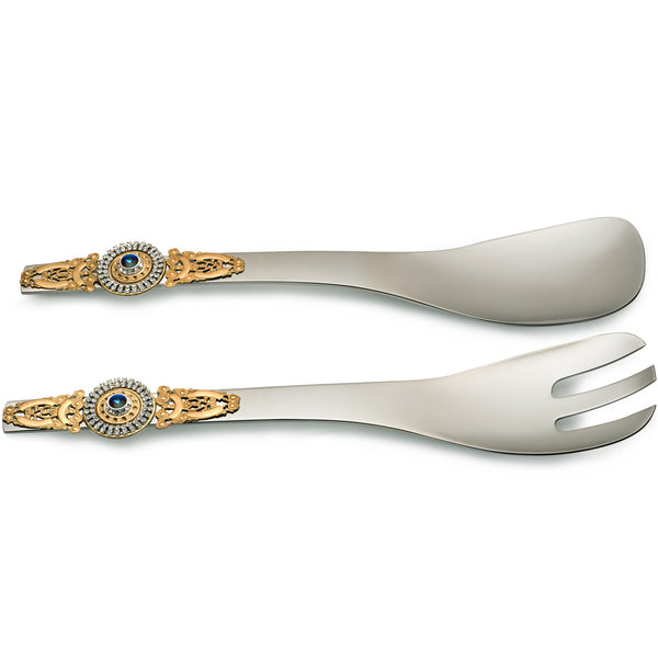 ALC Imperial Filigree Contemporary Salad Servers