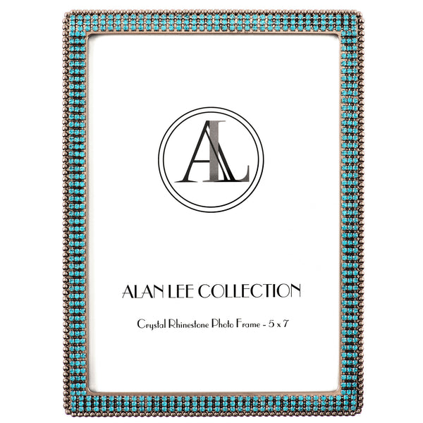 ALC 5 x 7 Encrusted Picture Frame