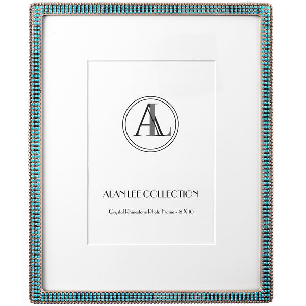 ALC 8 x 10 Encrusted Picture Frame