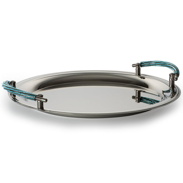 ALC Circular Serving Tray with Handles