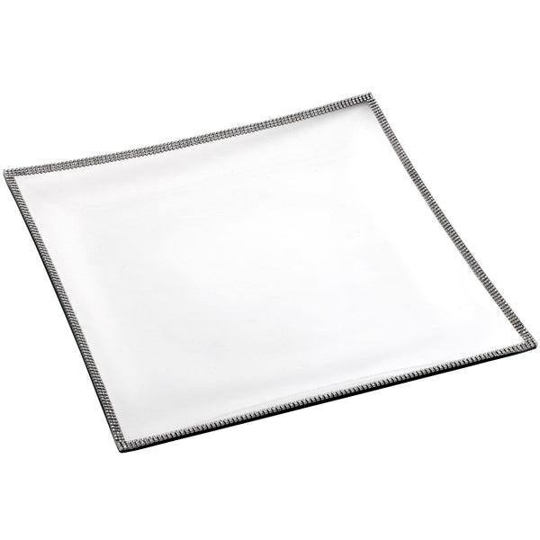 ALC Glass 14in Square Tray