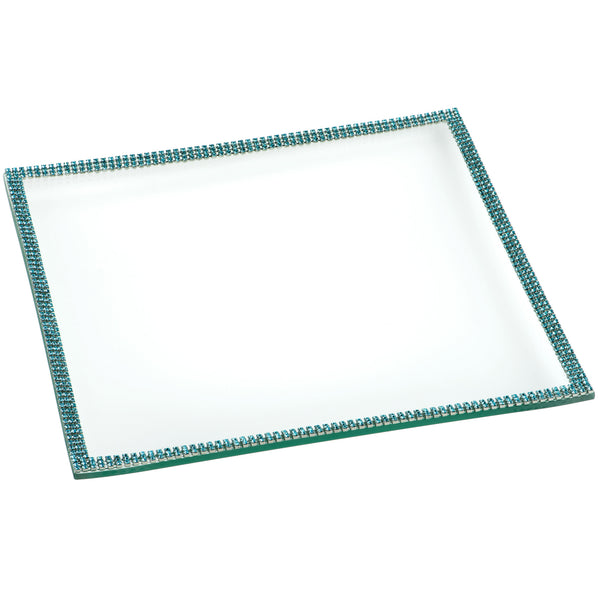 ALC 9in Square Glass Tray