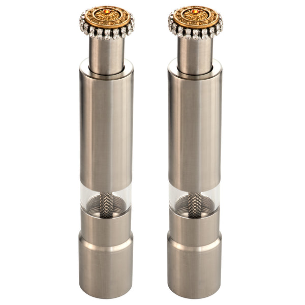 ALC Imperial Filigree Contemporary Salt and Pepper Mill Set