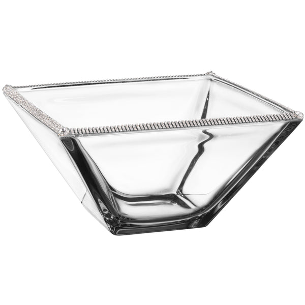 ALC 10in Square Glass Bowl