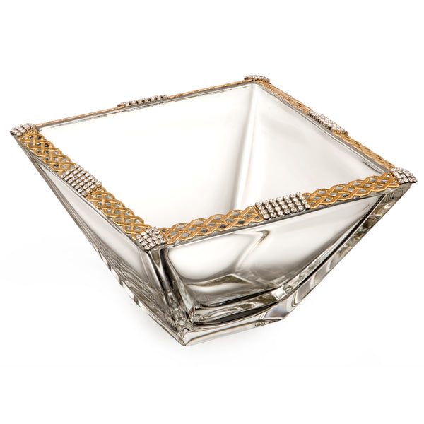 ALC Imperial Filigree Weave 6in. Square Bowl