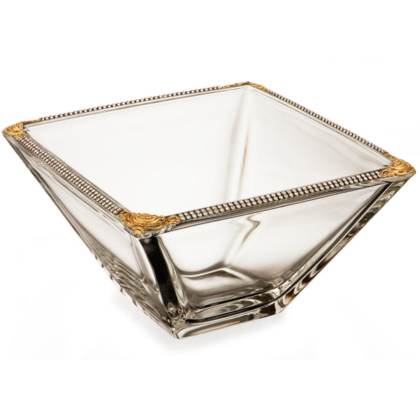 ALC Imperial Filigree 8in Square Bowl