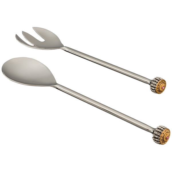 ALC Imperial Filigree Straight Handle Salad Servers