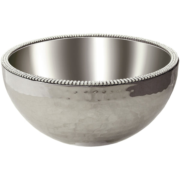 ALC 8in Dual Angle Hammered Bowl