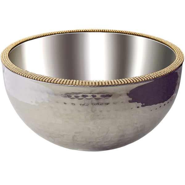ALC 12in Dual Angle Hammered Bowl