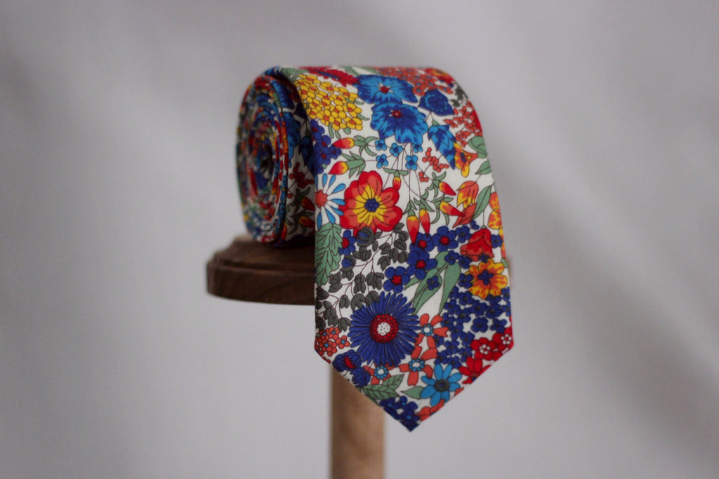 The Casanova Floral Necktie by Sir Wylde, Handmade in America