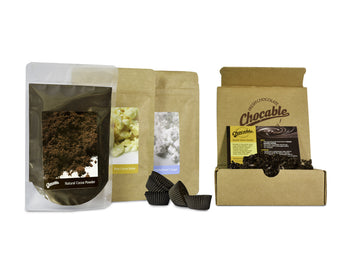 Chocable DARK Chocolate Making Kit